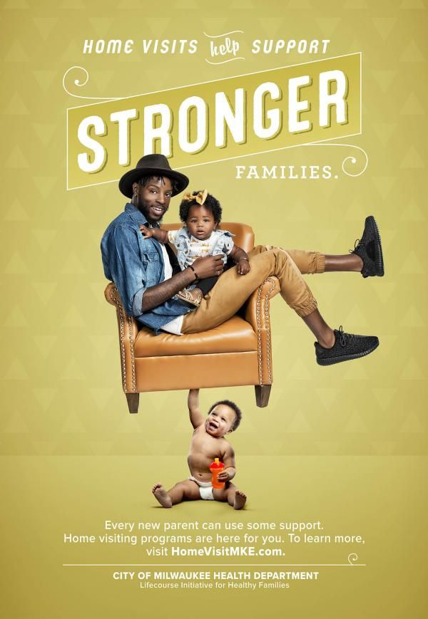 Stronger Families Campaign City Of Milwaukee Halth Department Gary Mueller 2016 Strong Family Health Department New Parents