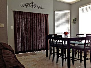 modern curtains for sliding glass door looks a whole lot better