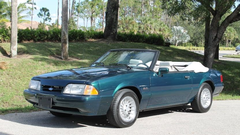 1990 Ford Mustang Lx Convertible J132 Kissimmee 2018 Mustang Lx Ford Mustang Mustang