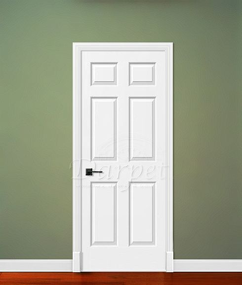 Charmant 6 Panel Colonial Door From Jeld Wen | Darpet Interior Doors For Chicago  Builders ...