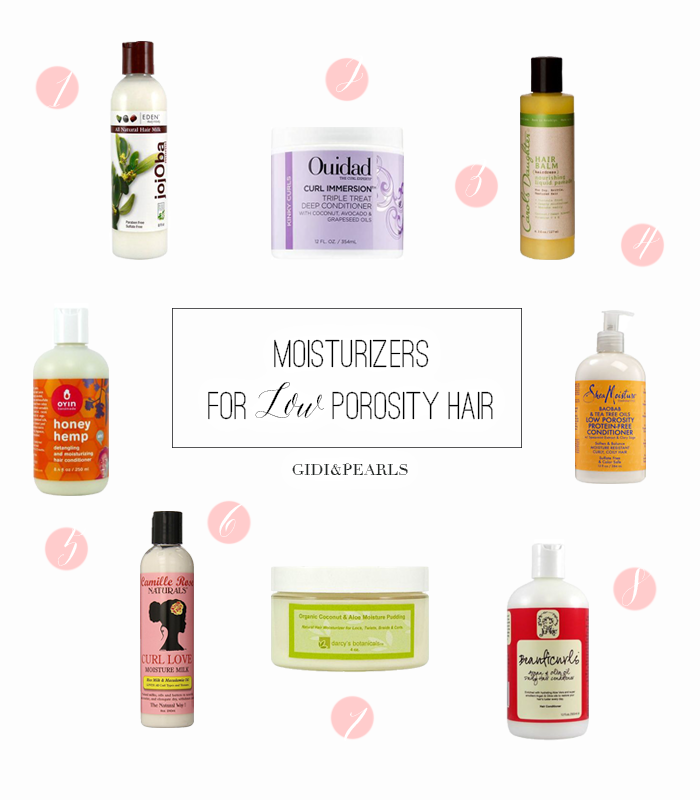 The Best Moisturizers To Protect Your Low Porosity Hair