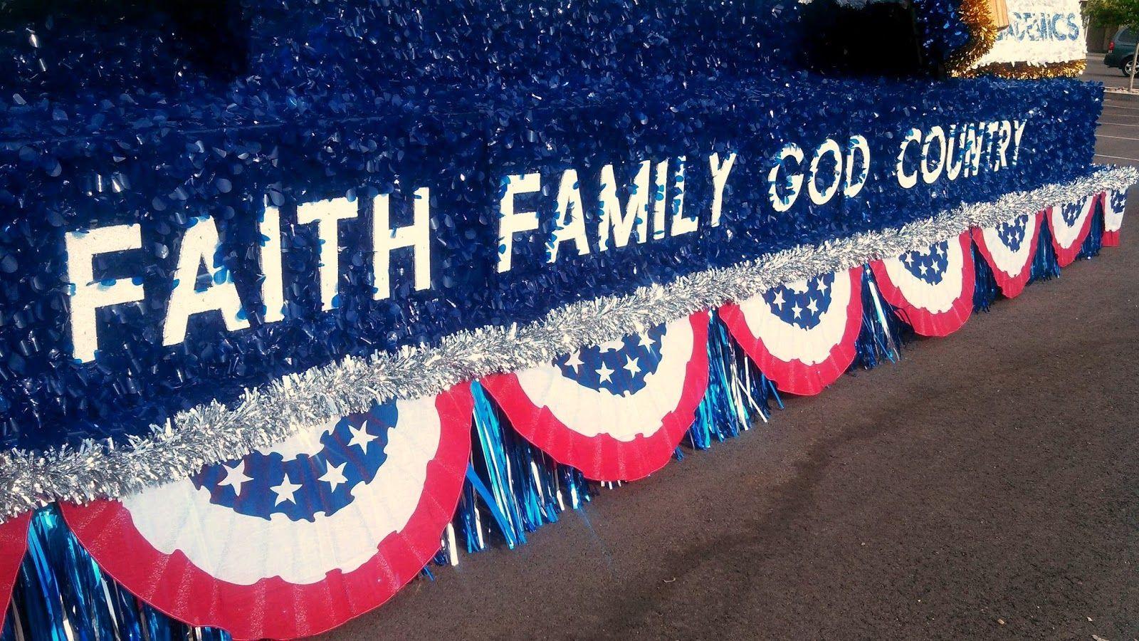 Patriotic Parade Floats Ideas At