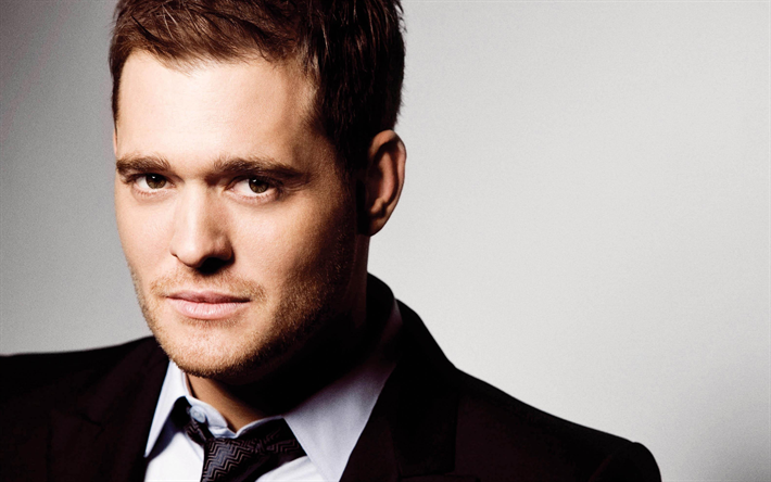 Download Wallpapers Michael Buble, Canadian Singer, 4k