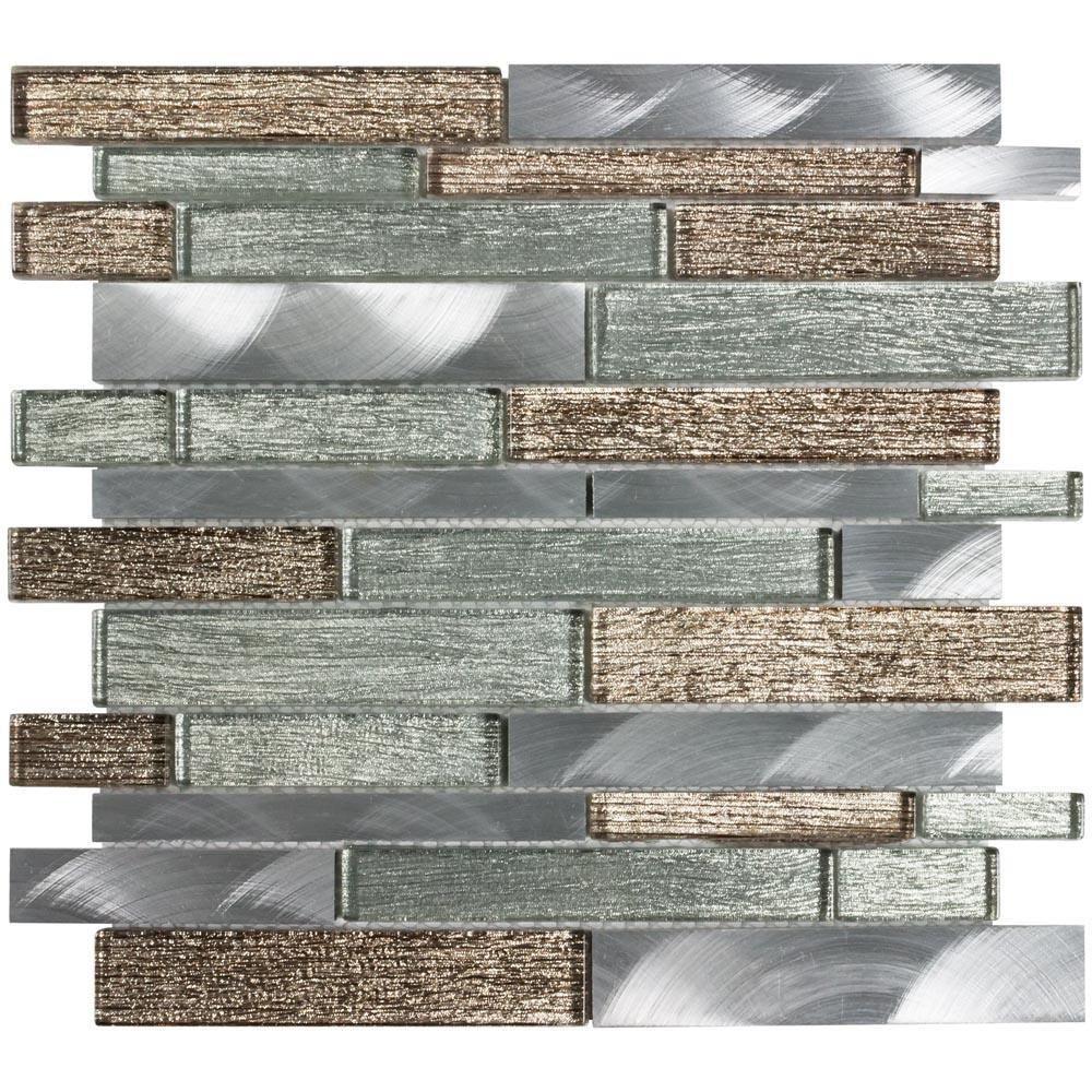 Pin By Tara Rexroad On Home In 2020 Metallic Wall Tiles Metal