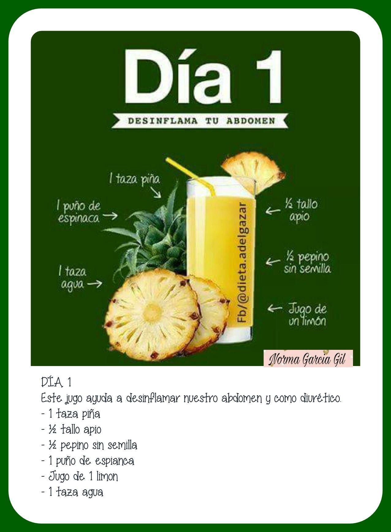 Dieta de jugos 7 dias