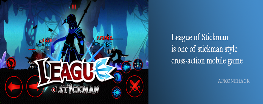 League of Stickman 2017 Apk is a Action Game for android