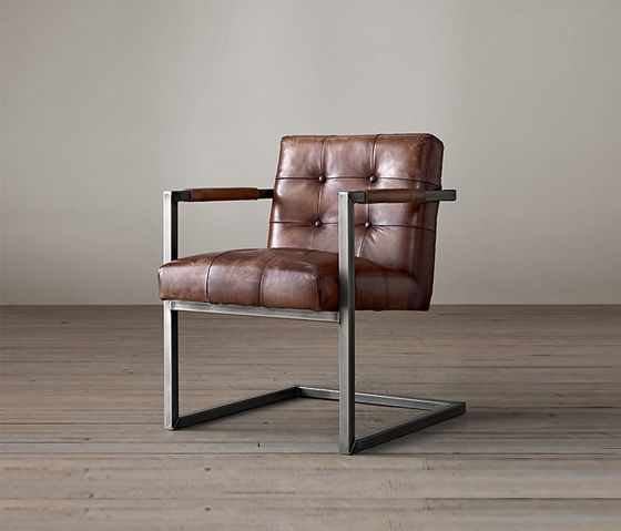 Restoration Hardware Milano Lounge Chair Offices