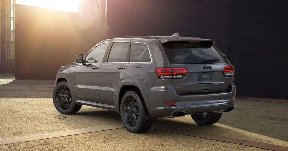 2016 Jeep Grand Cherokee High Altitude Rear Side View Jeep Grand