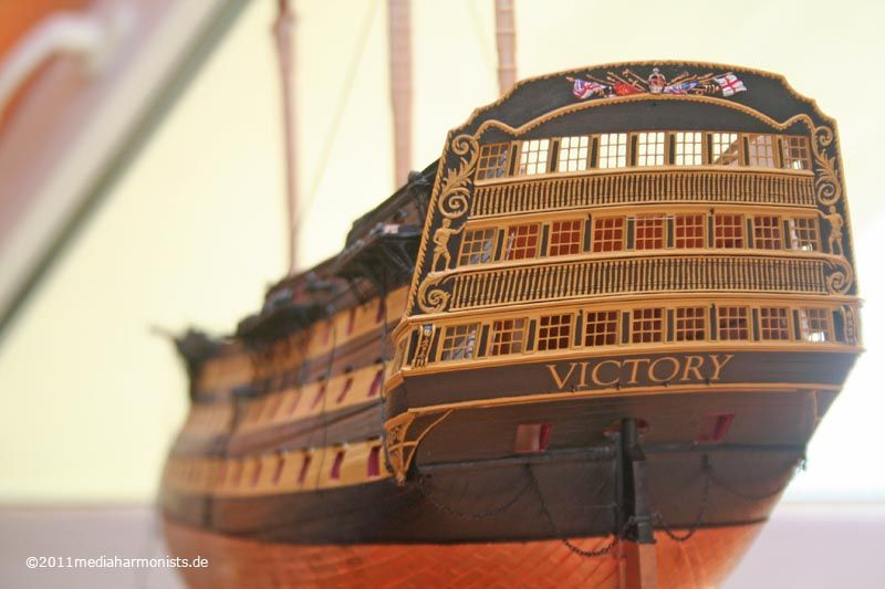 Etch Parts for HMS Victory 1:100 (Heller Kit) | Wooden Model