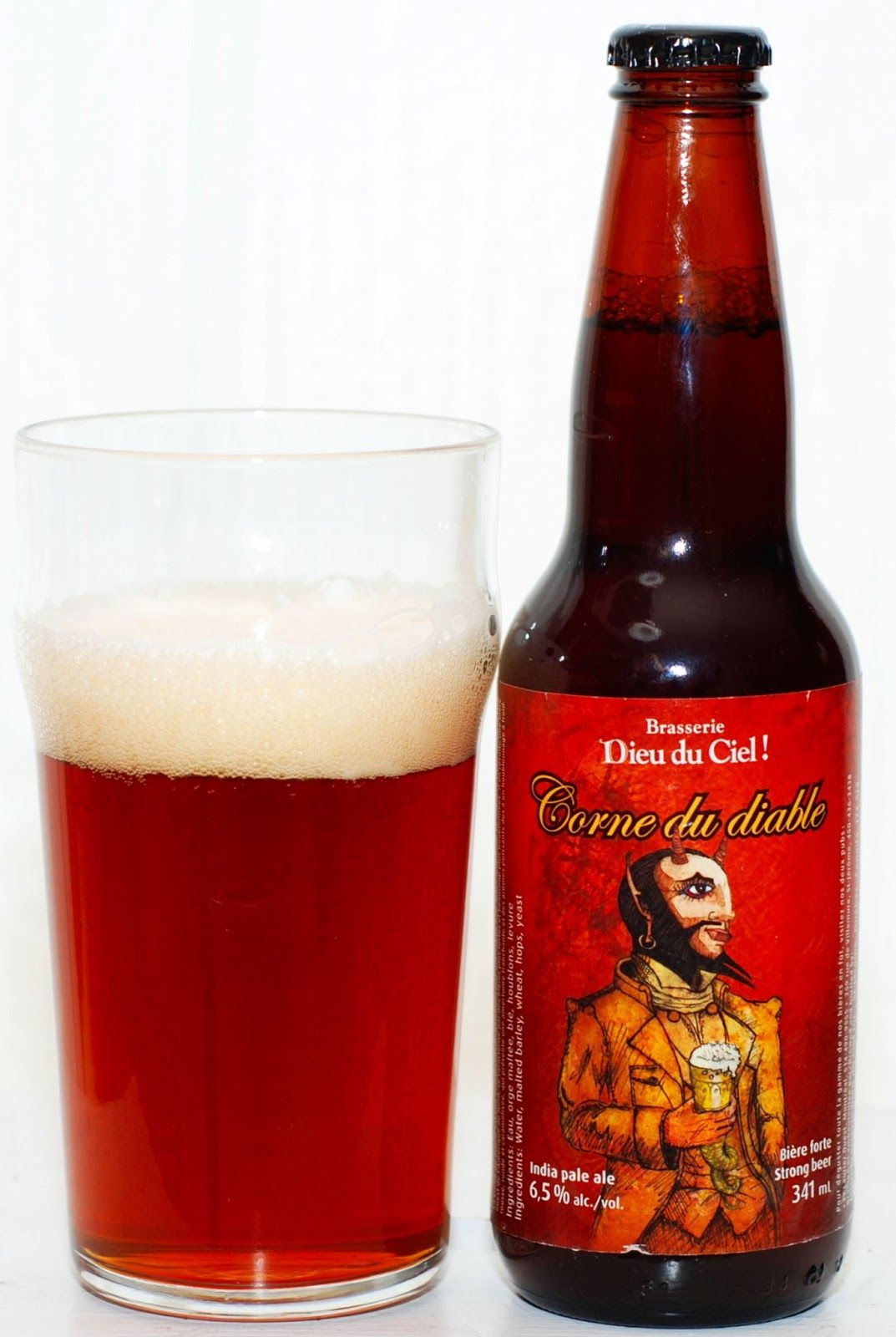 The Corne Du Diable From Dieu Du Ceil Is A Contemporary Adaptation Of The Original English Pale Ales This Interpretation Of Beer English Pale Ale Best Beer