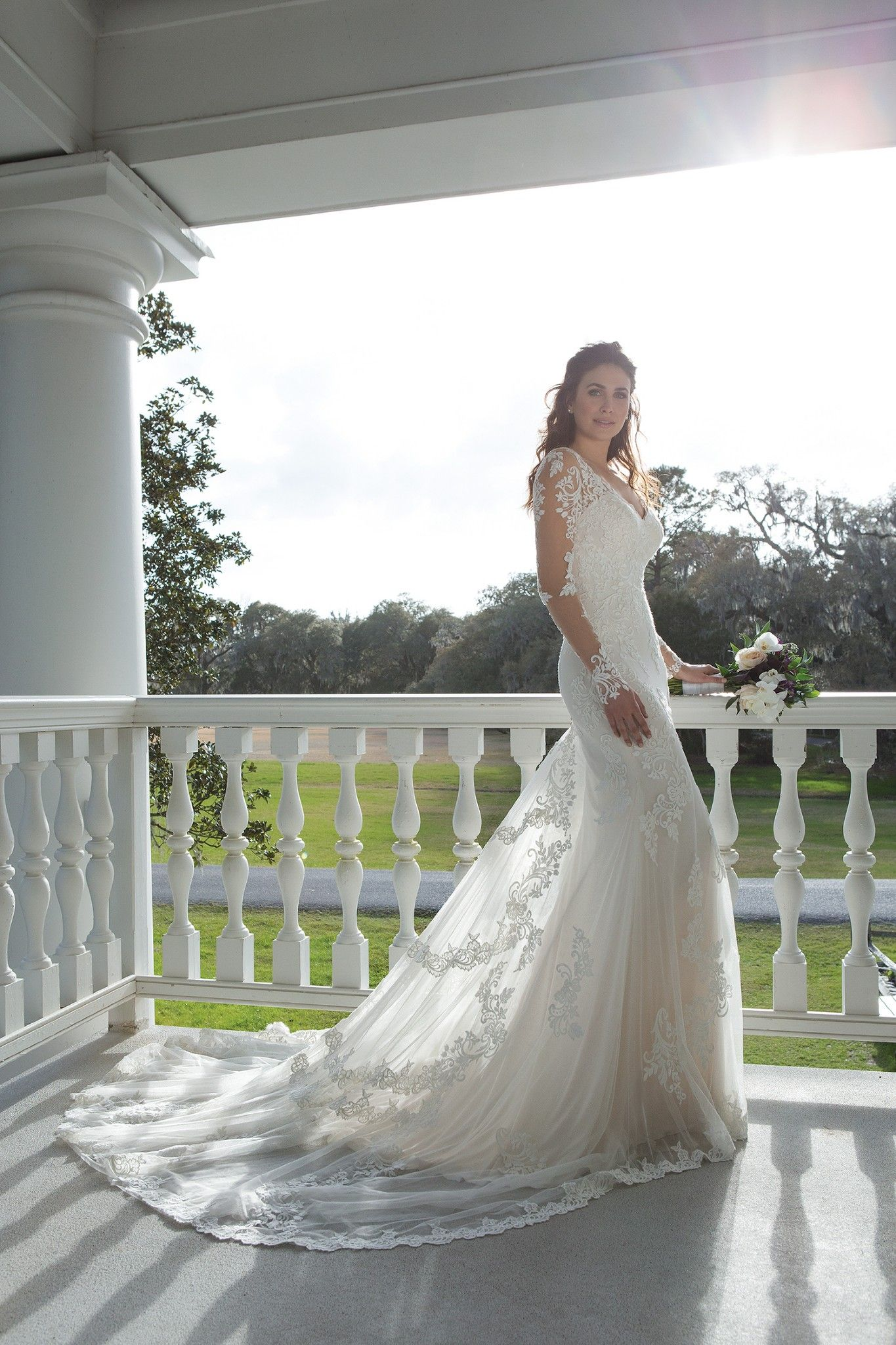 Pin by amber skinner on dresses illusion wedding gown
