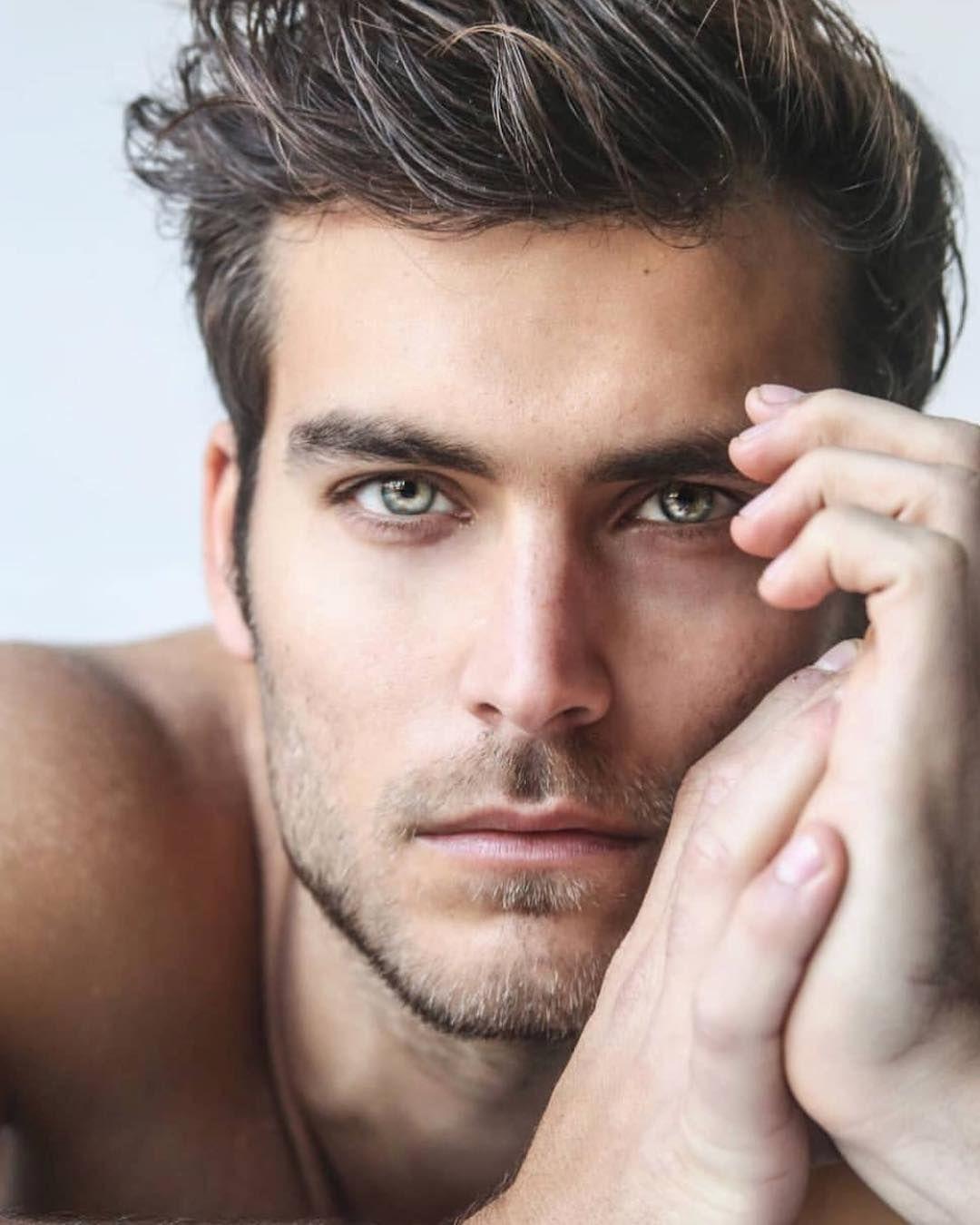 Image May Contain 1 Person, Closeup  Beautiful Men Faces -9125