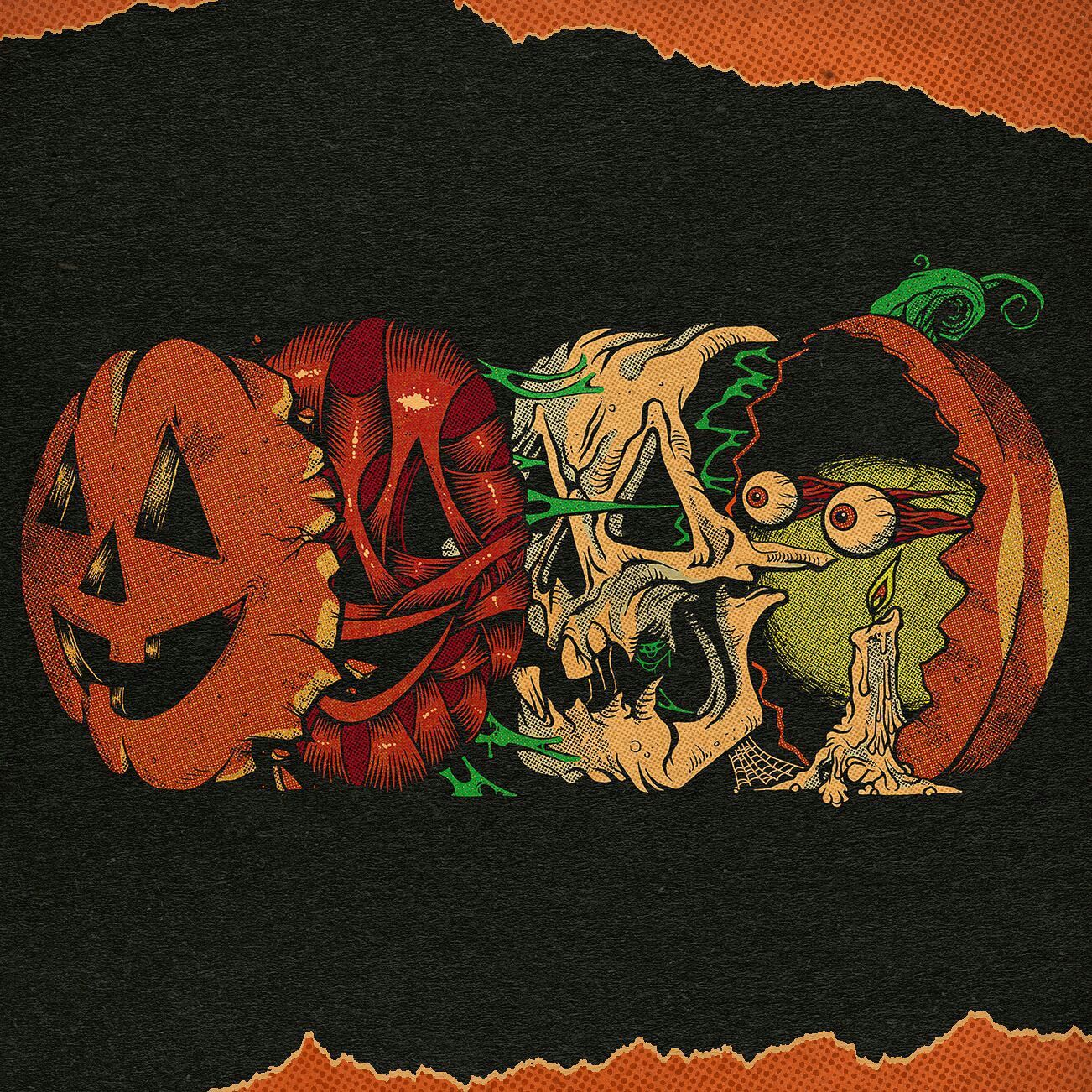Spotify In 2020 Halloween Art Halloween Wallpaper Vintage Halloween