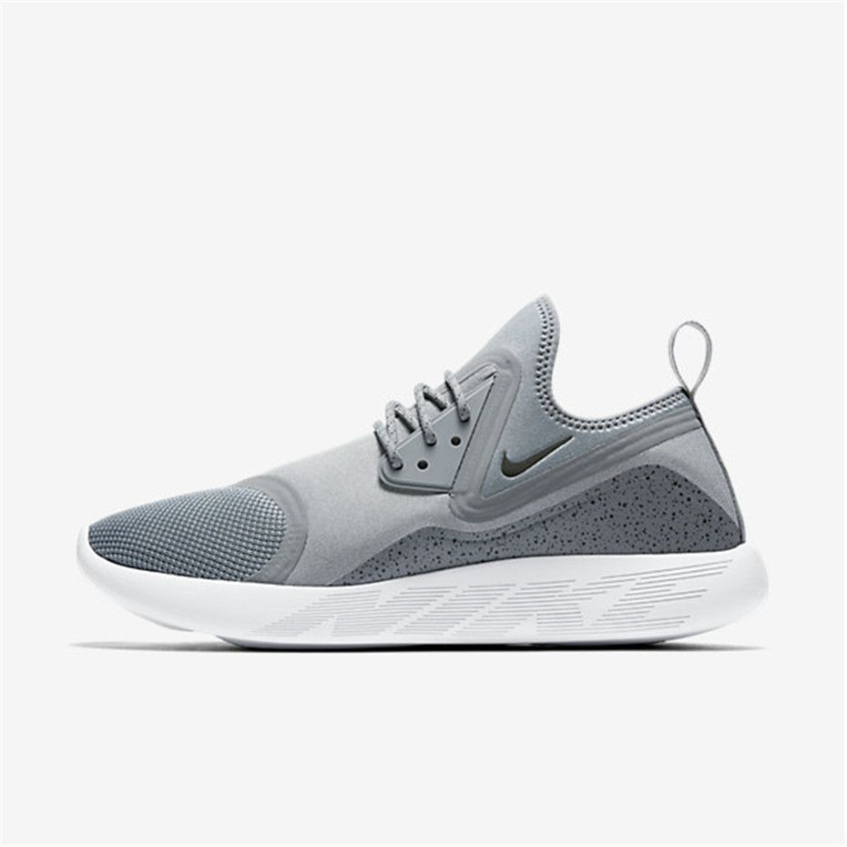 Fashion Nike Lunarcharge Trainers Mens Wolf Grey/Black/White Online Shopping