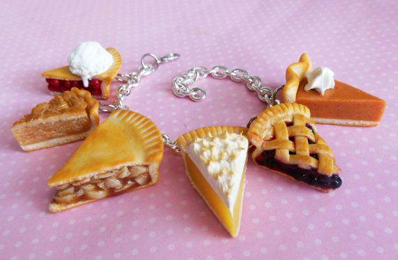 Pâte polymère pâte à tarte tranche parti breloque bijoux   Etsy
