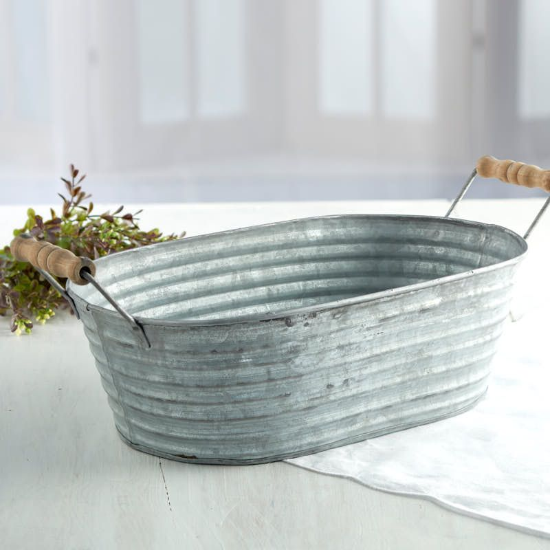 Galvanized Tin Wash Tub Primitive Bathrooms Primitive Decorating Wash Tubs