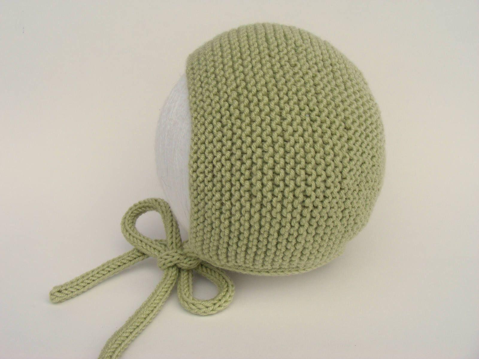 Green Baby Bonnet 11190895627
