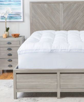 Ecopedic 2 5 In Queen Polyester Mattress Topper 60896 The Home