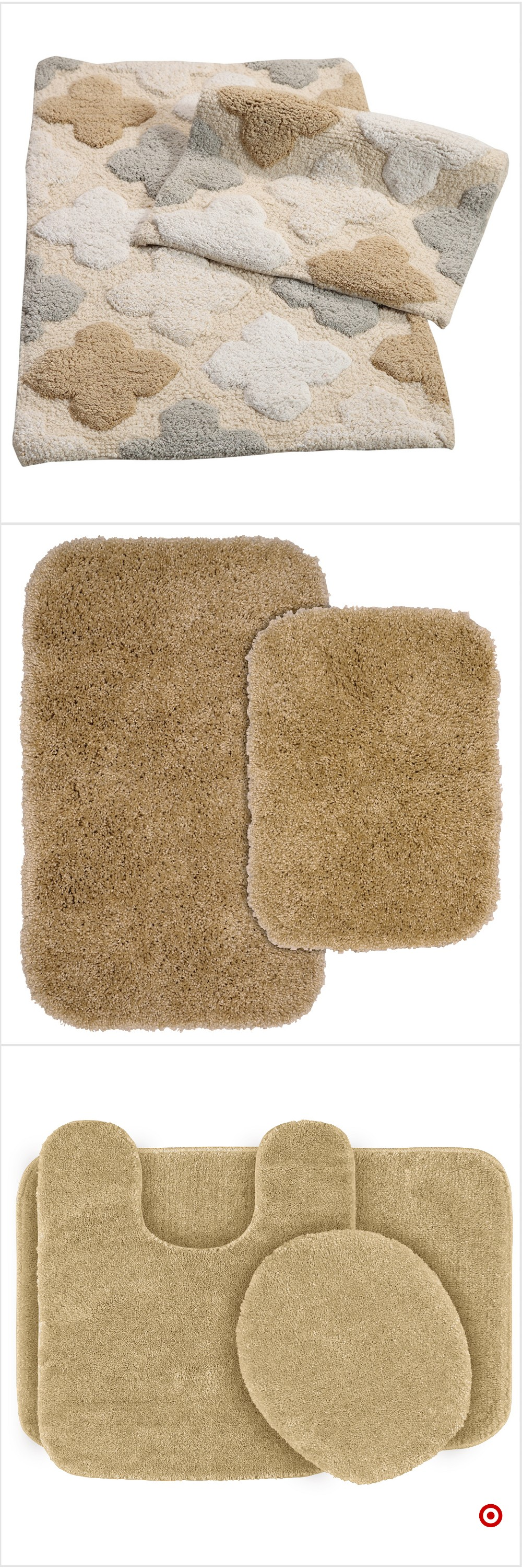 Shop Target for bath rug set you will love at great low ...