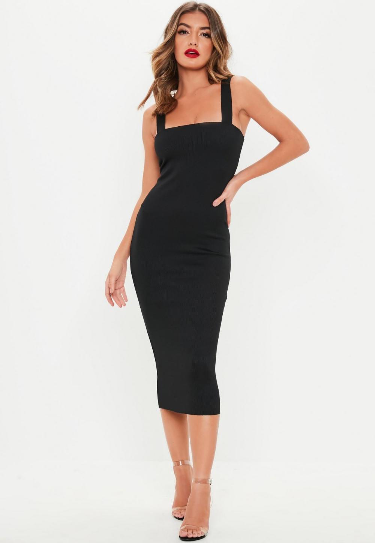 29+ Black dress square neckline trends