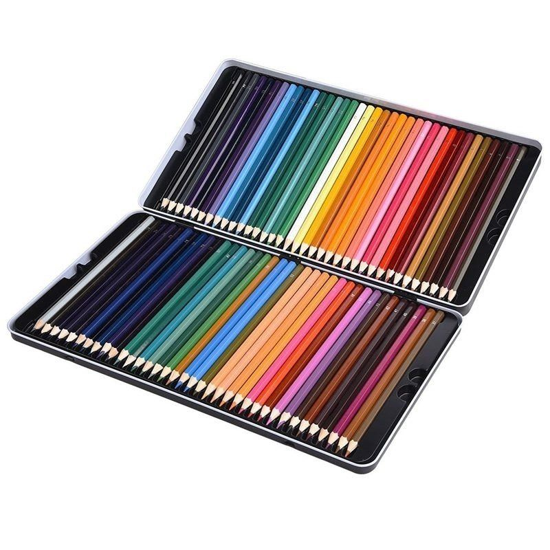 72 Premium Pre-Sharpened Color Pencil Set For... Colore Colored Pencils