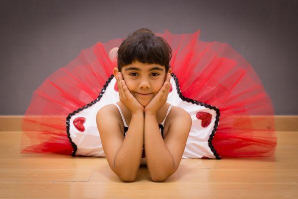Fotografía infantil, ballet