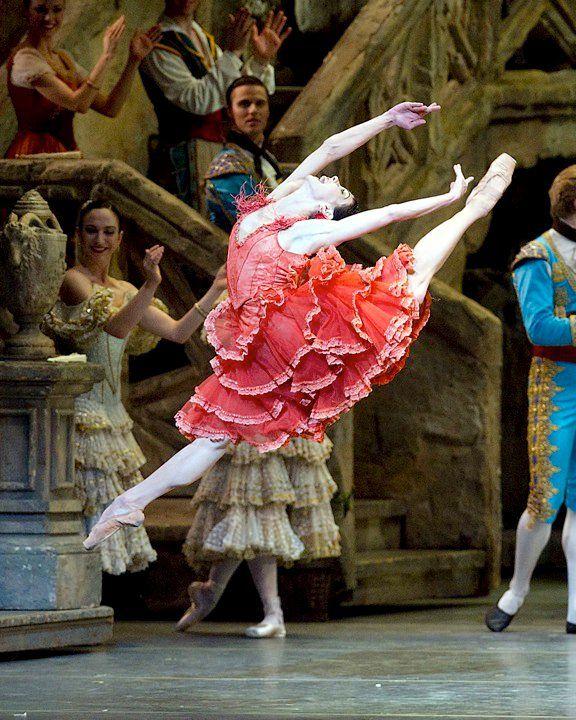 "Natalia Osipova as Kitri in ""Don Quixote"" / ABT / 2010 Spring Season / photographer Gene Schiavone"