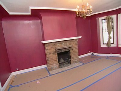 Benjamin Moore Cranberry Cocktail Kitchen Wall Colors