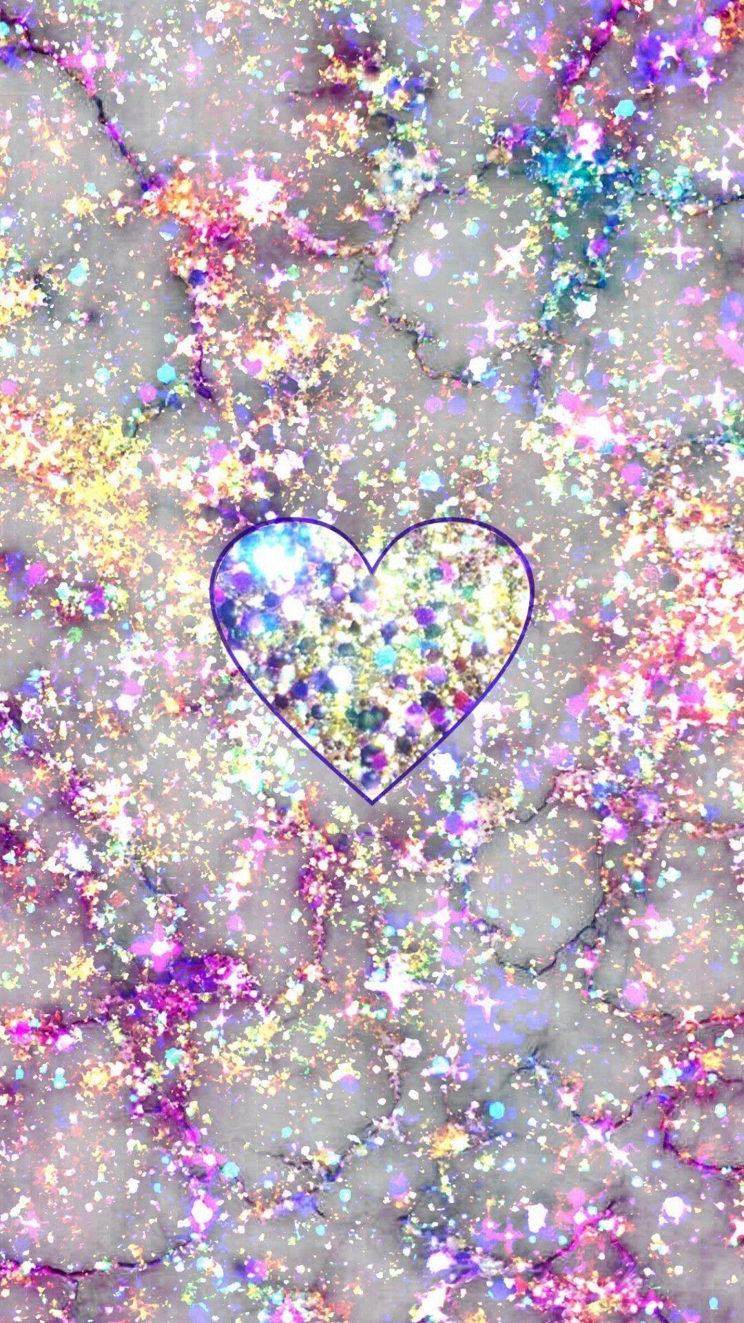 Glitter Regenbogen Iphone Hintergrundbilder Ipcwallpapers Iphone Wallpaper Glitter Glitter Phone Wallpaper Heart Iphone Wallpaper