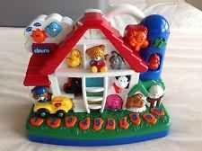 CHICCO Bilingual Talking Farm Toy