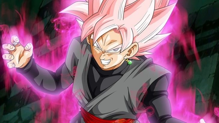 Super Saiyan Rose Goku Black Dragon Ball Super Wallpaper