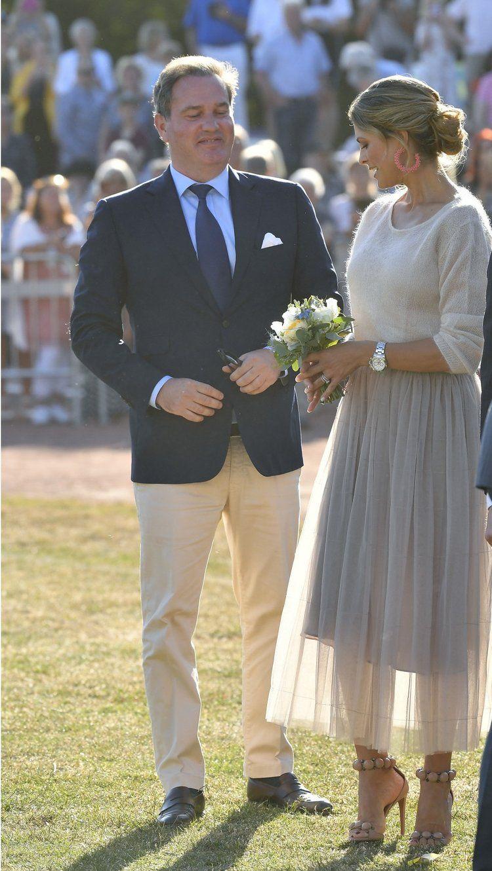 Princess Madeleine Attends Crown Princess Victoria