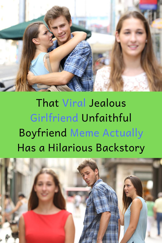 Jealous Boyfriend Meme Funny