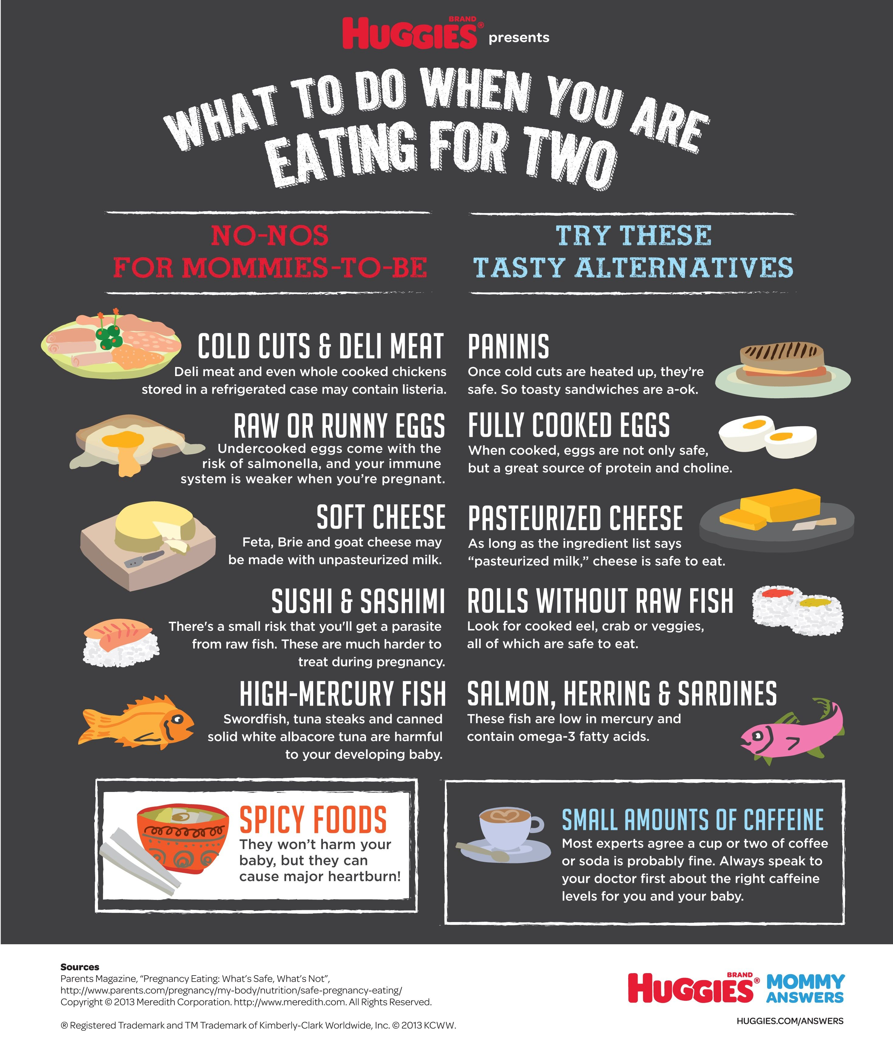 eating for twohuggies®  safe pregnancy diet  healthy