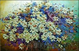 لوحات فنية زيتية بسيطة من اجمل خلفيات شاشه غاية في الجمال Oil Art Paintings Abstract Art For Sale Abstract Canvas Art Oil Painting Flowers
