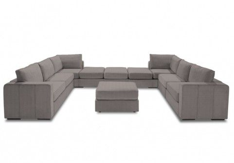 This Bay Window Sectional Set Up Is Perfect For Company And Is