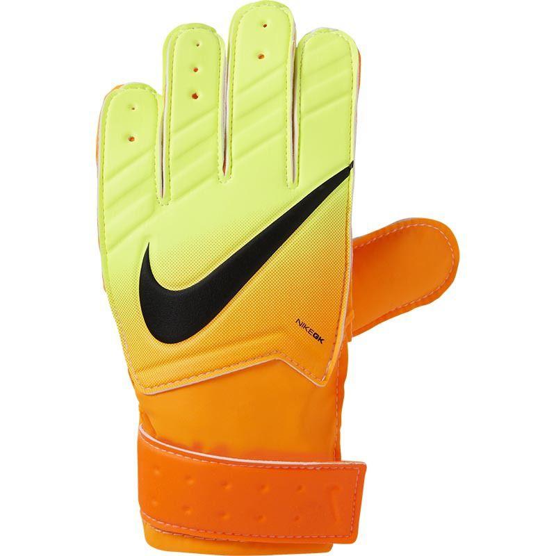 Nike Gk Jr Match Kids Goalkeeper Gloves Volt Orange Goalkeeper Gloves Goalkeeper Gloves