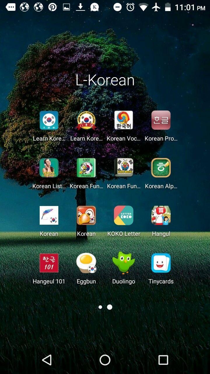 Not my phone type. No Korean learning apps. Legiti...