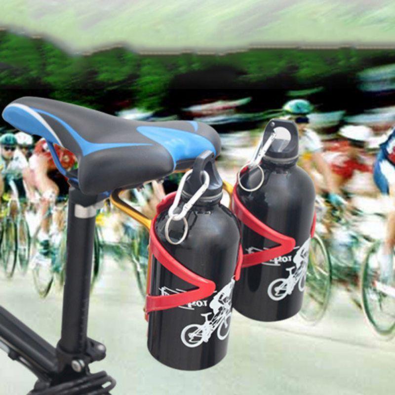 Bicycle Aluminum Bottle Cage Converter Holder Mountain Bike Saddle