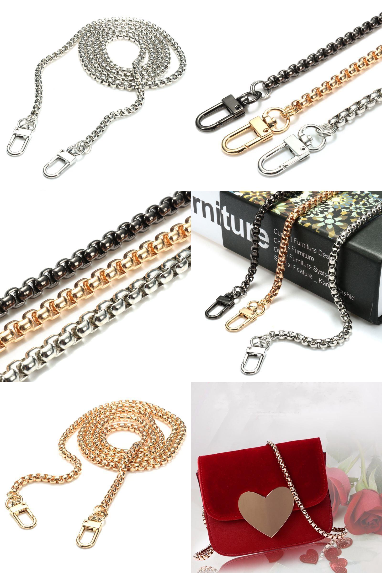 Luggage & Bags Cheap Sale Replacement Purse Chain Strap Handle Shoulder Crossbody Handbag Bag Metal 120cm