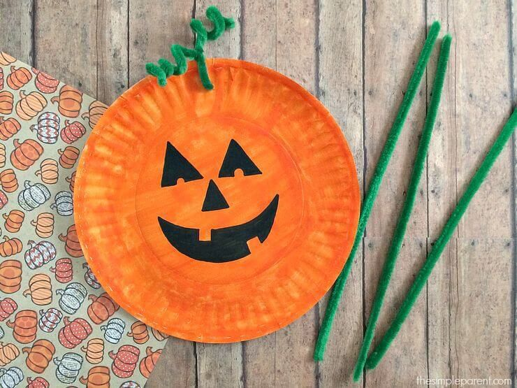 20 Halloween Paper Plate Crafts