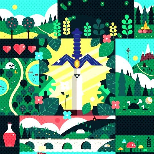 Wake up, Link by James Boorman -