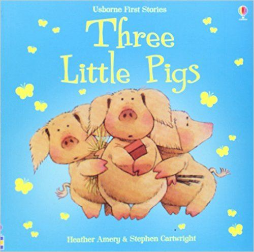 Amazon First Company: 3 Little Pigs (First Stories): Amazon.co.uk: Heather Amery