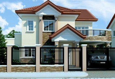 Modern House Design 2012005 Pinoy Eplans Philippines House Design 2 Storey House Design Philippine Houses