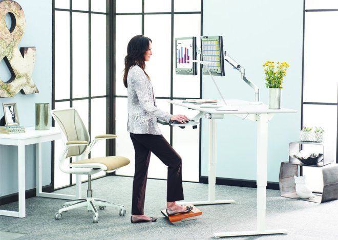 the newest trend in the american office is the standing desk which rh pinterest com