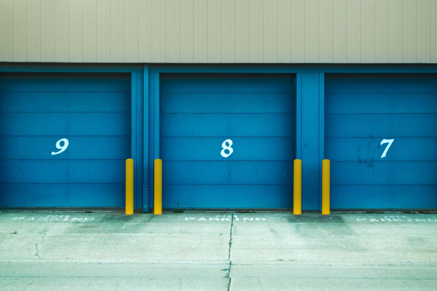 Commercial Garage Door Considerations In 2020 Blue Shutters Garage Doors Self Storage