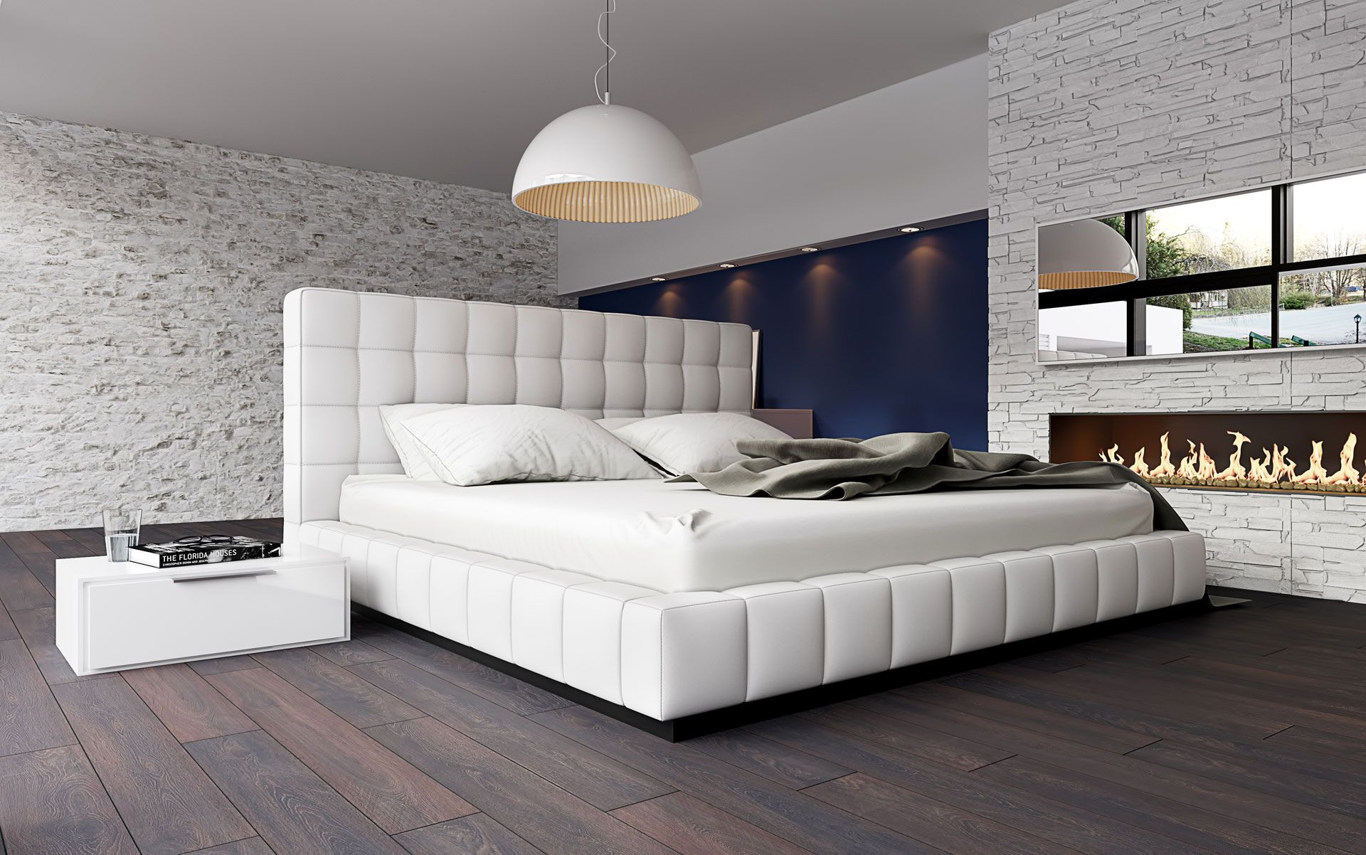 Best Elegance Defines The Thompson Bed With Its Square Tufted 400 x 300