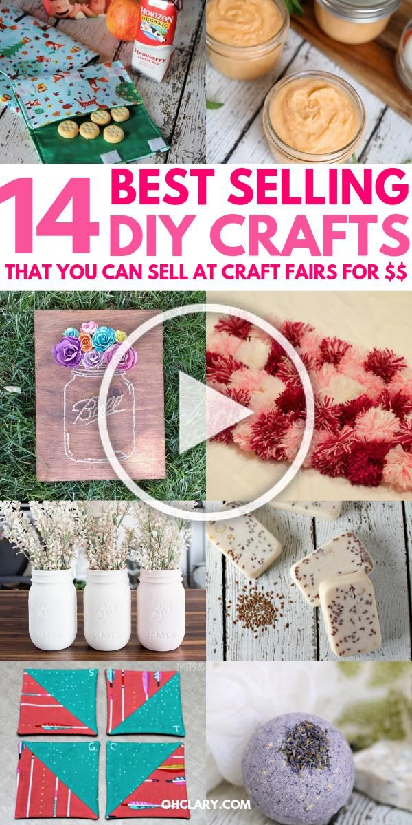 14 Awesome Diy Crafts That Sell Well At Craft Fairs And On Etsy