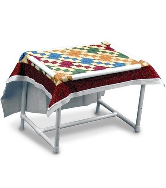 Dritz Quilting Floor Quilt Frame - Sewing Supplies - Sewing ...