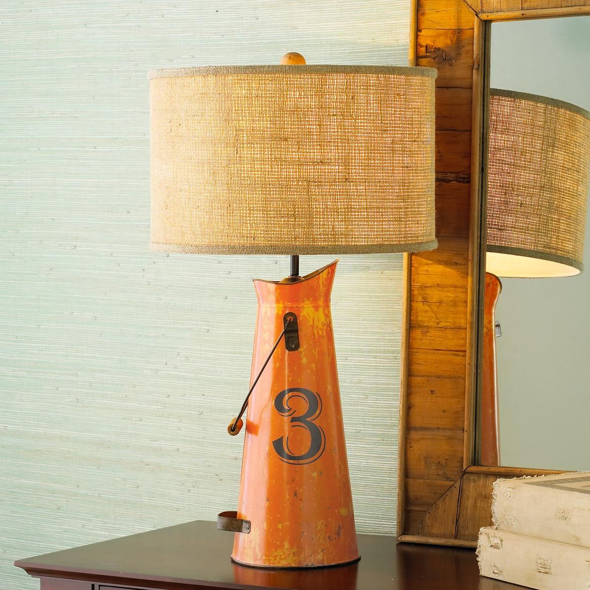 Milk Can Table Lamp 4 Colors Milk Can Table Table Lamp Milk Cans